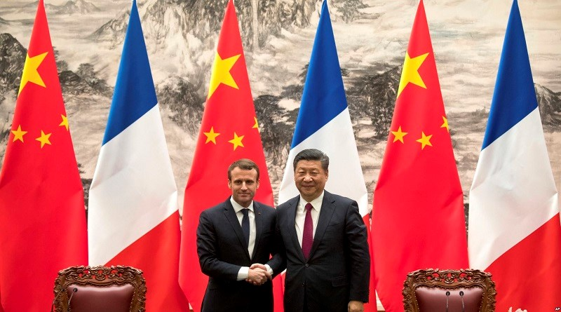 """China´s new """"Silk Road"""" cannot be one-way, French President Emmanuel Macron"""